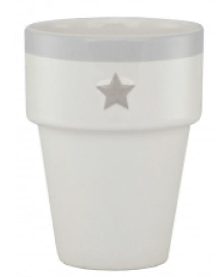 Mug Milk White Star