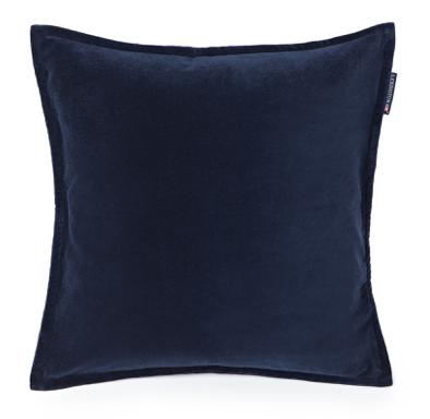 Velvet sham (Blue )