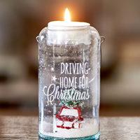 Driving Home For Christmas Tealight