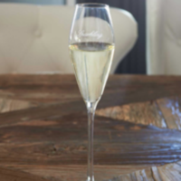 classic champagneg glass  sparkling
