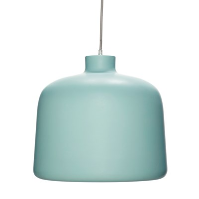 Lamp, green/white