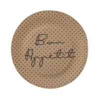 Paper Plate, Brown