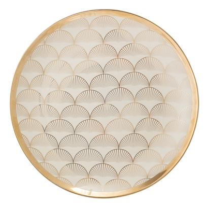 Aruba Plate, Gold