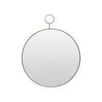 Mirror, The Loop, Brass, dia: 38 cm