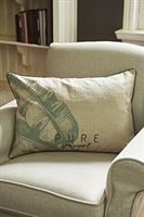 Pure Banana Leaf Pillow Cover 65 x 45 cm