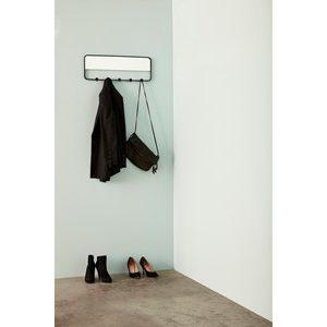 Coat rack w/mirrow, metal