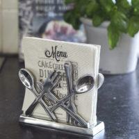 Classic Cutlery Napkin Holder