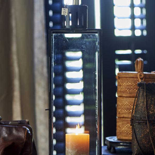 French Glass Lantern L