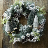 Pretty Pinetree Wreath