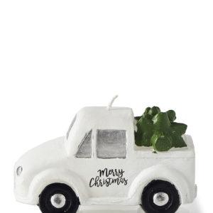 Pretty Pickup Truck Candle