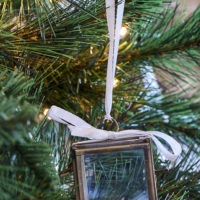 French Glass Box Ornament