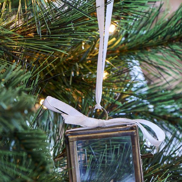 French Glass Box Ornament