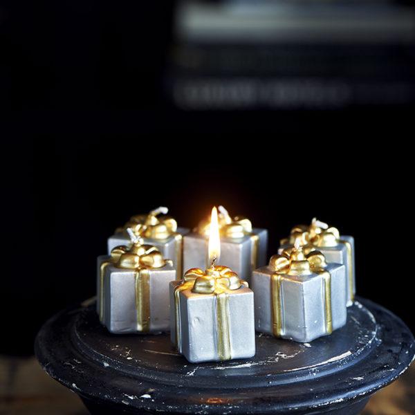 Pretty Present Mini Candles 6 pcs