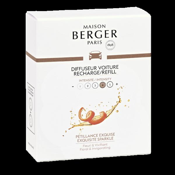 Maison Berger - Exquisite sparkle autotuoksu täyttöpakkaus