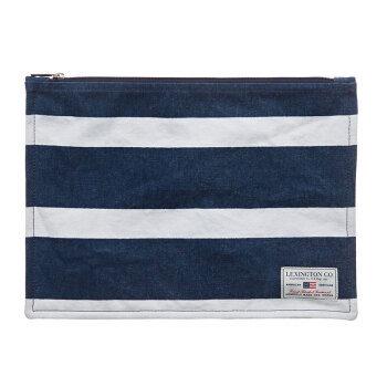 Lexington Two Mile Bag Blue/White Stripe