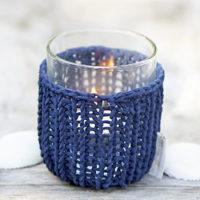 Rivièra Maison Shelter Summer Knit Votive blue