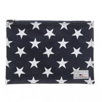 Lexington Two Mile Bag Blue Star Print