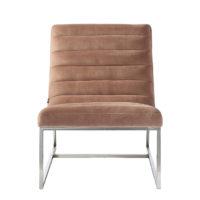 Rivièra Maison Thompson Lounge Chair Vel Blush