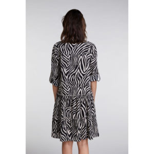 Oui Zebra Print Dress